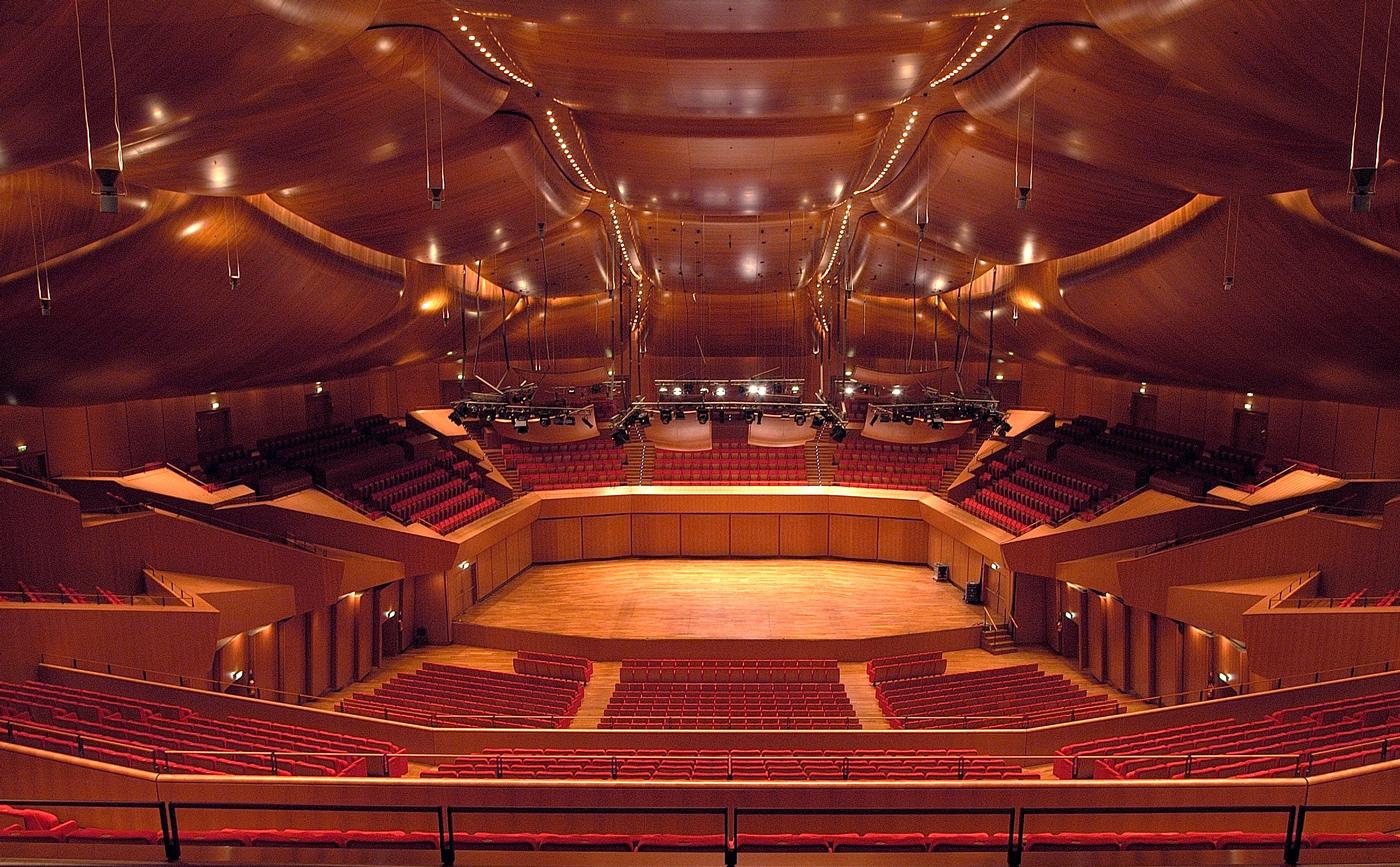 Sala concerti parco della musica di renzo piano for Auditorium parco della musica sala santa cecilia