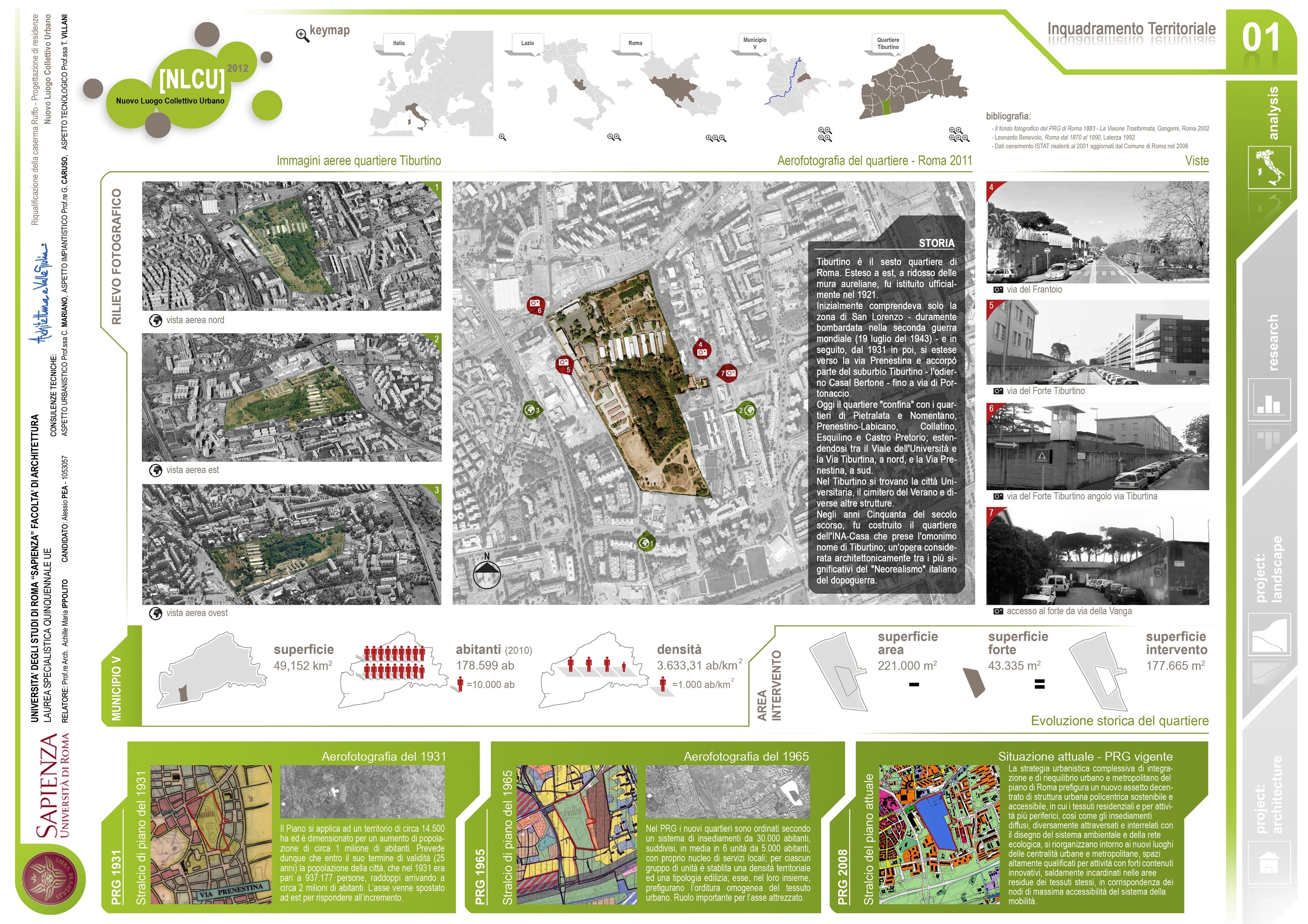 Tesi di laurea in architettura di alessio pea for Progettazione della casa territoriale