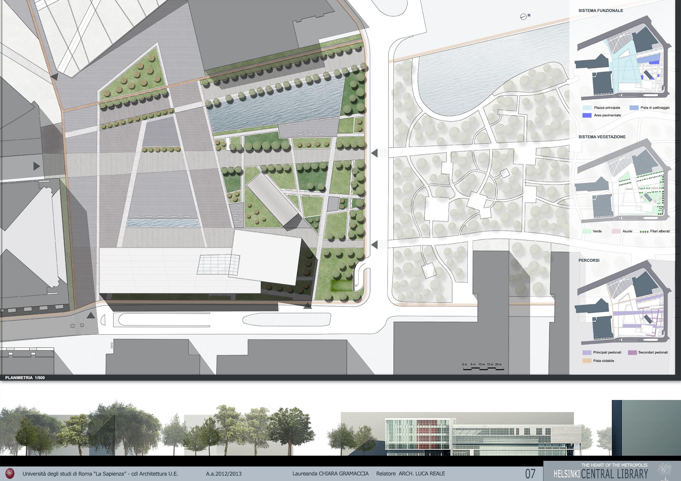 Tesi di chiara gramaccia - Tavole di concorso architettura ...