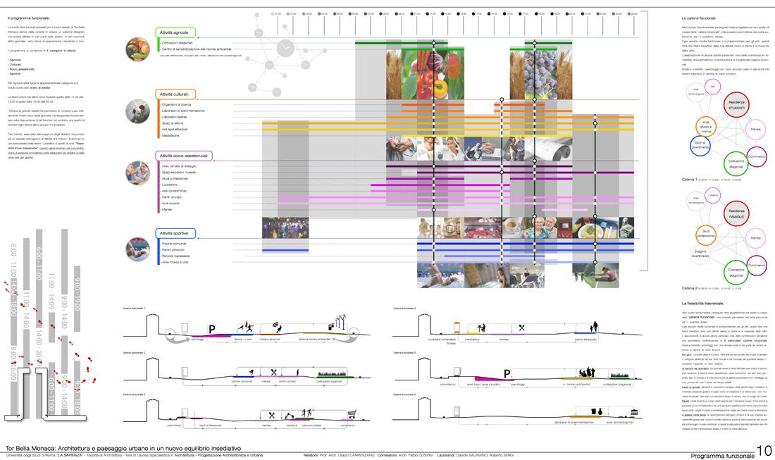 Tesi in architettura di davide salamino roberto sergi for Programma di architettura