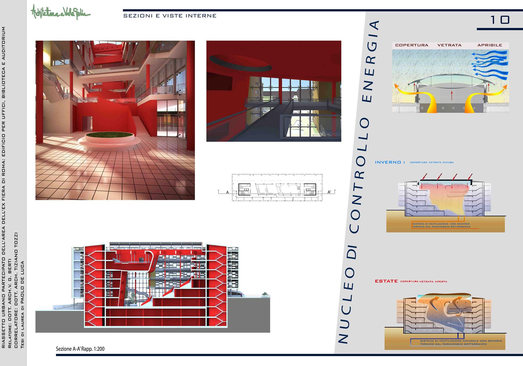 Tesi di laurea di paolo de luca for Studi di architettura roma