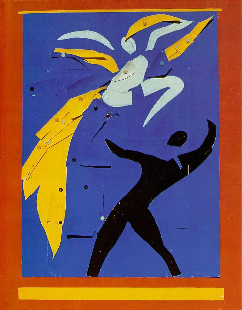 Matisse two dancers study for rouge et noir 1938 - Fauteuil rouge et noir ...