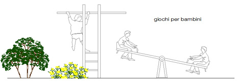 Parco Giochi Bambini 2d Dwg