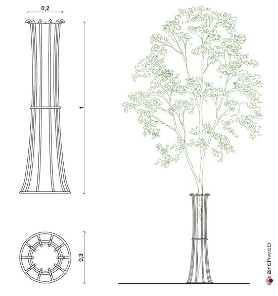 Griglie per alberi griglie ghisa carrabili for Arredo ufficio dwg