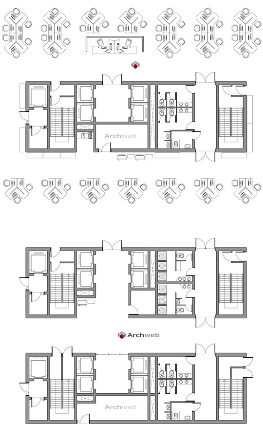 Collegamenti verticali uffici for Archweb uffici