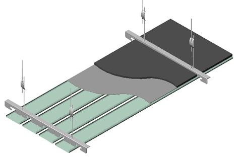 Controsoffitti 3 dwg - ceiling 3d dwg