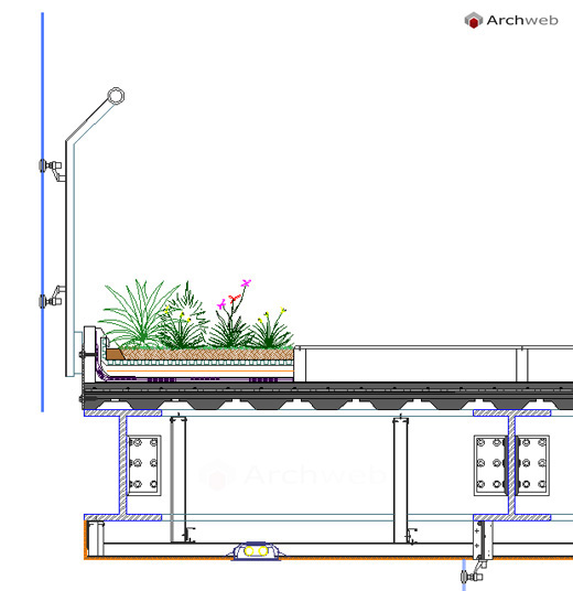 Fiori 3d Archweb.Giardini Pensili Dwg Roof Garden Dwg