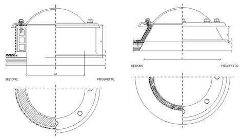 Lucernari Dwg Skylight Detail