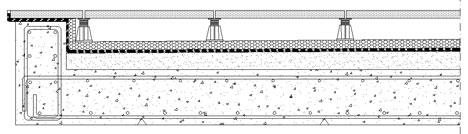 Pavimentazioni flottanti dwg - Pavimento galleggiante per interni ...