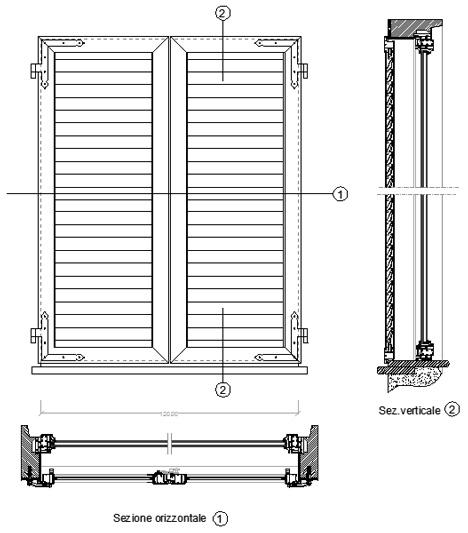 Persiane dwg 28 images persiane arteall porte finestre in alluminio 187 persiane scorrevoli - Blocchi autocad finestre ...