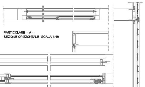 Frangisole scorrevoli dwg terminali antivento per stufe a pellet - Finestre in legno dwg ...