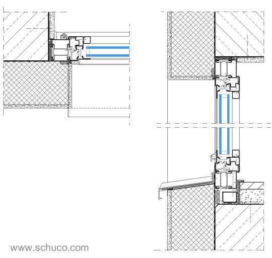 Infissi alluminio 2 - Particolare costruttivo finestra ...