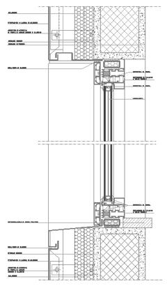 Infissi alluminio for Finestra scorrevole verticale