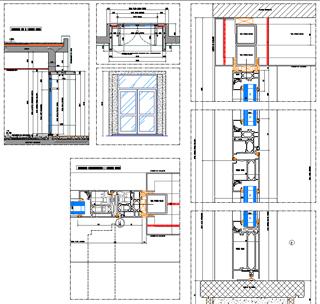 Finestra fissa dwg riparazioni appartamento for Porta rei dwg