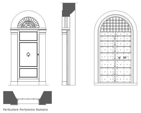 Portoni portoncini dwg for Porte archweb