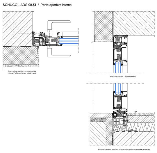 Porte interna schuco doors free download - Finestre dwg 2d ...