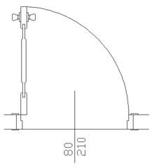 Arsivix Com çarpma Cam Kapı Planı 2dwg Archweb