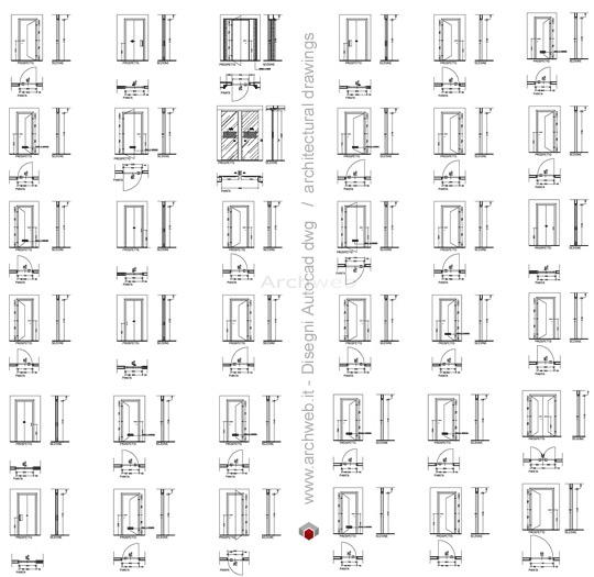 Casa immobiliare accessori porte interne obi for Porte scorrevoli dwg