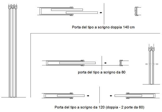 Armadio A Muro Dwg.Sistemi Di Isolamento Termico Archweb Porte Scorrevoli
