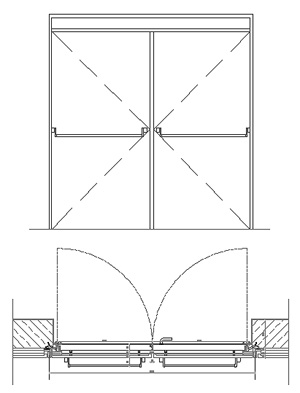 Porte dwg
