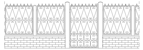 recinzioni 2d