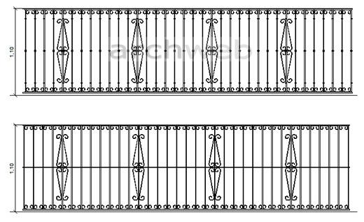 balconi ringhiere in ferro battuto : Ringhiere in ferro battuto 6