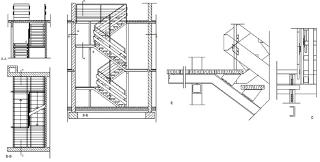 Scale Di Sicurezza Scala Antincendio Stairs Metal
