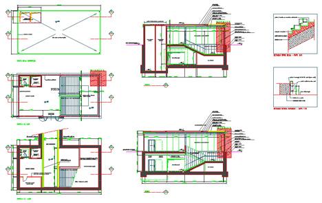 Progetto rampa disabili dwg for Progetto casa autocad