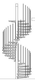 Scale circolari 2d for Scala a chiocciola 3d