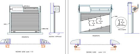 Serrande dwg 2 for Porte archweb