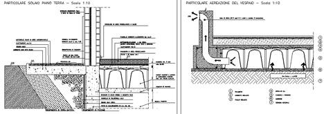 Mobili lavelli vespaio igloo dwg for Vespaio aerato