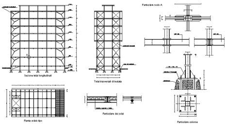 strutture metalliche dwg