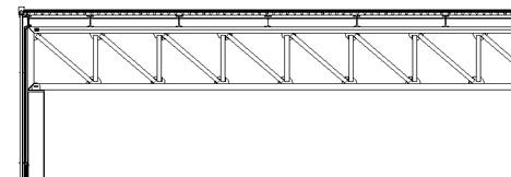 Strutture reticolari dwg travi reticolari dwg for Copertura piana in legno dwg