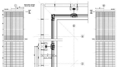 Vetrate con frangisole 2 frangisole dwg 3 for Archweb uffici
