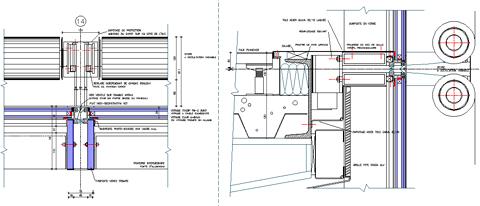 Vetrate con frangisole for Finestra scorrevole verticale