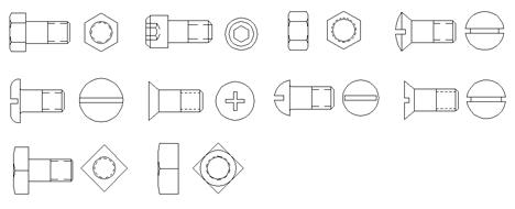 Assemblaggio Carpenteria Viti E Bulloni