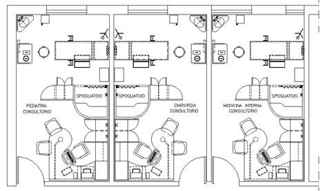 Ospedali 2 - progetti e schemi dwg
