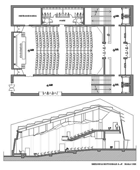 Progetto sala conferenze colonna porta lavatrice for Boiserie dwg