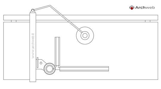 Tecnigrafo 2d tavolo da disegno - Tavolo da disegno con tecnigrafo ...