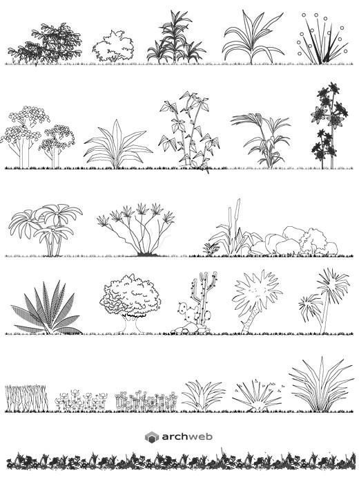 Fioriere e aiuole - disegni fioriere dwg (2)