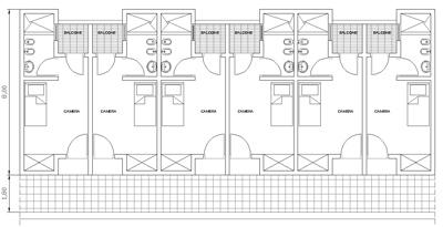 Hotel schemi di progetto autocad dwg - Mobili per bed and breakfast ...