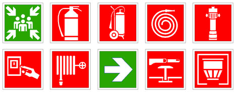 simboli antincendio 3 dwg