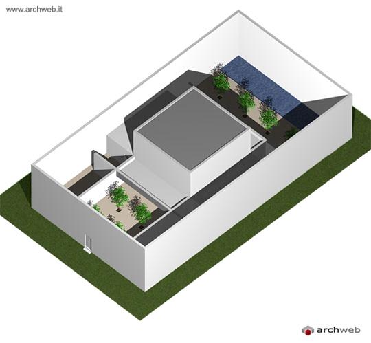 Guerrero house 3d model - Casa guerrero campo baeza ...
