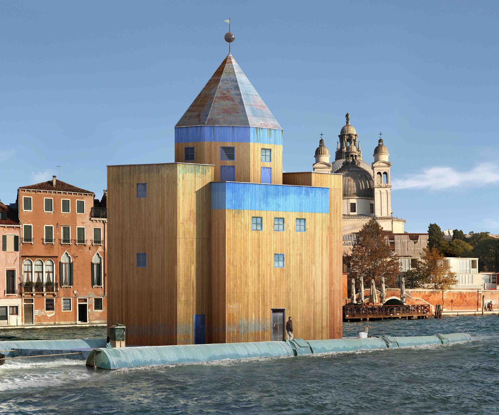 Teatro del Mondo a Venezia foto