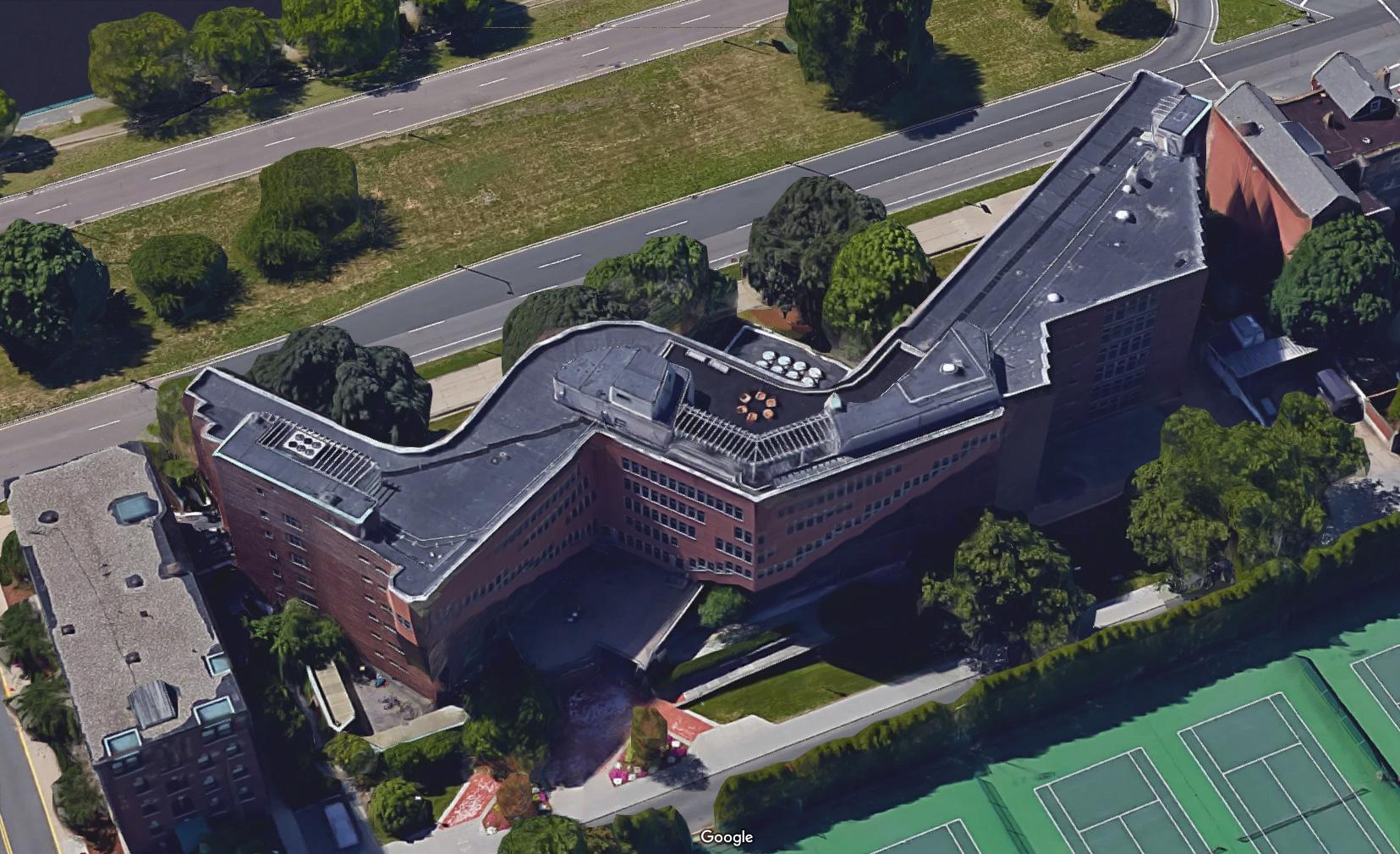 Alvar Aalto Baker House 2d