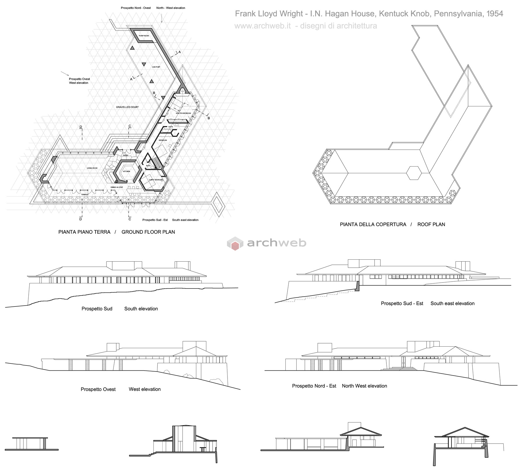 Hagan_house_wright_drawings
