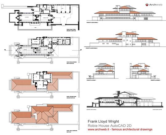 Robie House 2d F Lloyd Wright