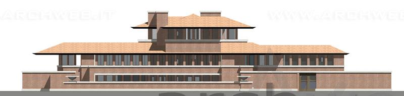 Robie House 3D di F. L. Wright