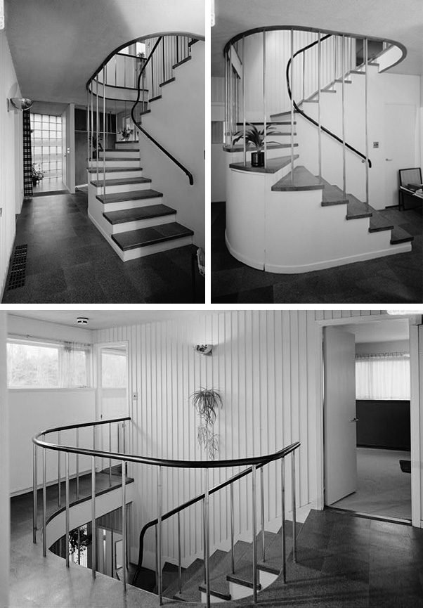 Gropius house lincoln massachusetts photos stairs for Arredi esterni dwg