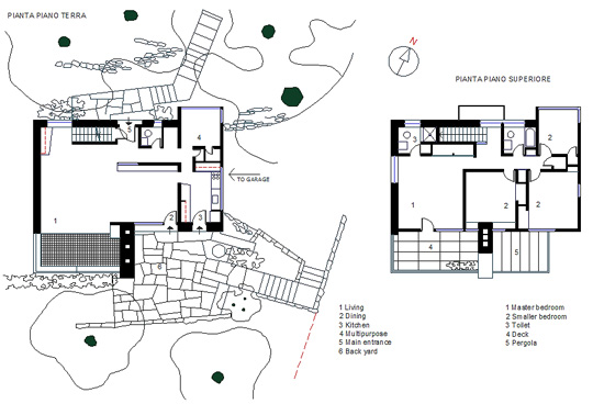 Louis kahn oser house dwg for Creatore di piano casa gratuito